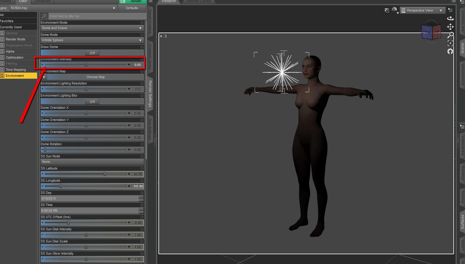 removing default lighting in daz studio � daz 3d help center