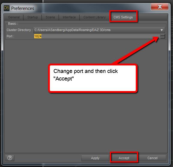 PostgreSQL Connection Error and No Smart Content – Daz 3D Help Center